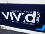 Vivid 2012 - Sydney Harbour